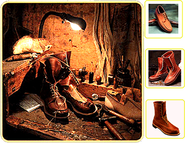 3f4dc382996 Russell Moccasin Co.   Midwest Moccasins   Wisconsin Custom footwear ...